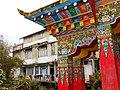Detail of Gate of Bhutia Busty Monastery - Darjeeling - West Bengal - India (12407247294).jpg