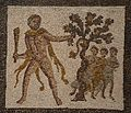 Detail of the Mosaic with the Labors of Hercules (Eleventh Labour- Apples of the Hesperides), 3rd century AD, found in Llíria (Valencia), National Archaeological Museum of Spain, Madrid (15457081602).jpg