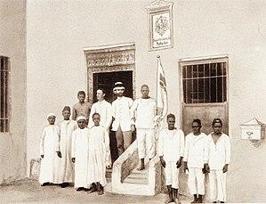 Heligoland–Zanzibar Treaty - Zanzibar, before 1890