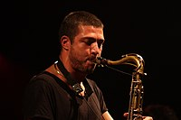 Deutsches Jazzfestival 2013 - Guillaume Perret and The Electric Epic - Guillaume Perret - 03.JPG