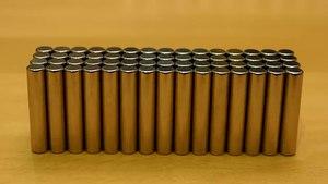 File:Diamagnetic Pyrolytic carbon levitating over permanent magnets - (1).webm