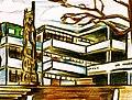 Dibujo que representa una vista conocida de los edificios del IPVCE Luis Urquiza Jorge de Las Tunas.jpg
