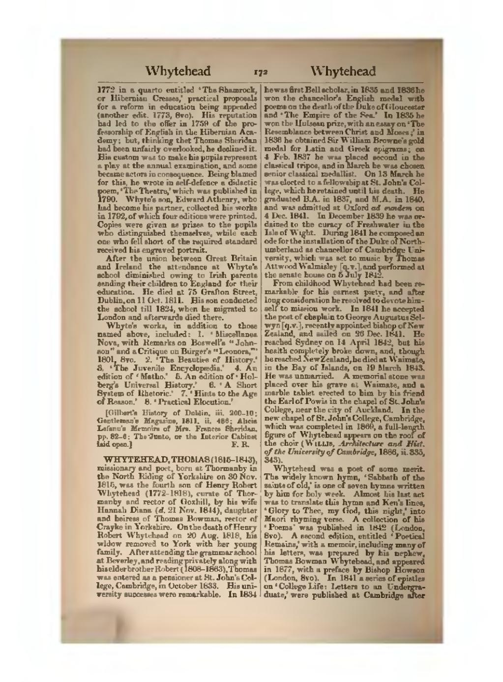 Pagedictionary Of National Biography Volume 61djvu 178 Make A Series Letters From The Led In 1841 Epistles On College Life To An Undergraduate Were Published At Cambridge After