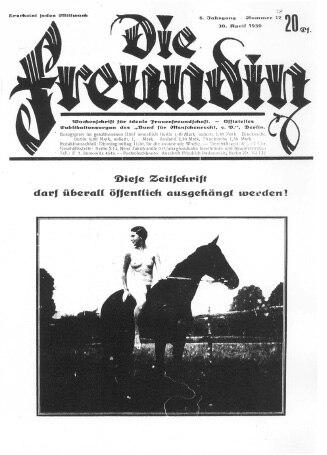 Die Freundin April 30 1930