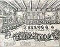 Diederich Graminaeus (1550-1610). Beschreibung derer Fürstlicher Güligscher ec. Hochzeit (Johann Wilhelm von Jülich-Kleve-Berg ∞ Jakobe von Baden-Baden) . Düsseldorf 1585, Nr. 12.JPG