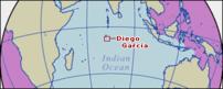 Location map of Diego Garcia.
