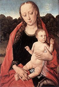Dieric Bouts - The Virgin and Child - WGA2973.jpg