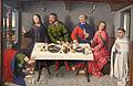 Dieric bouts, cristo in casa del fariseo, 1460 ca. 02.JPG