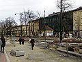 Dietla-Stradom intersection during roadworks 2020 13.jpg