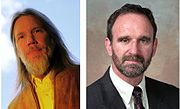 Whitfield Diffie and Martin Hellman, publishers of the first paper on public-key cryptography