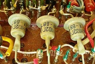 Shockley diode - Dynistor