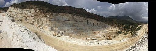 Dionyssos-Pentelicon marble quarry