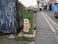 Disused Diesel Pump - Bridge Street, Dromore - geograph.org.uk - 1394064.jpg
