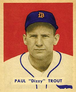 Dizzy Trout American baseball player