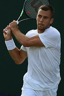 Laslo Đere Serbian tennis player