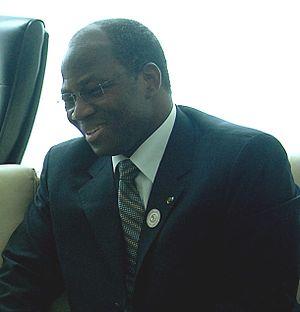 Minister of Foreign Affairs (Burkina Faso) - Image: Djibril Bassole 080701 F 1644L 030