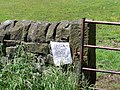 Do not feed me, Low Matlock Lane, Loxley Valley, Sheffield - 1 - geograph.org.uk - 1716997.jpg