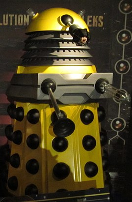 Doctor Who Experience Cardiff - Rise and evolution of the Daleks (14418887997).jpg