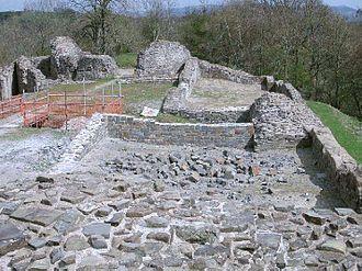 Dolforwyn Castle - Image: Dolforwyn Castle Powys Wales