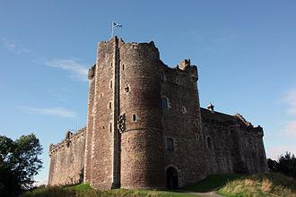 Doune Castle - Doune Castle – northeast corner