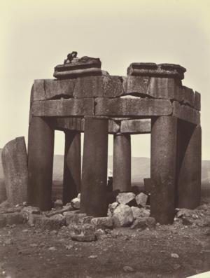 Duris, Lebanon - The Qubbat Duris in 1871