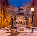 Downtown Moncton First Snow (23457383581).jpg