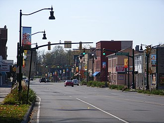 Plainfield, Indiana - Plainfield Town Center