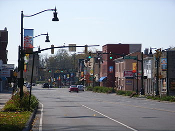 Plainfield Stadtmitte – Main Street – U.S. Highway 40
