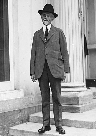 Charles E. Sawyer - Sawyer at the White House in 1923