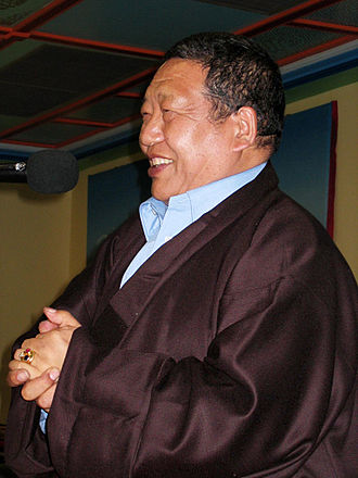 Akong Rinpoche - Akong Rinpoche at his 65th Birthday celebration in 2005