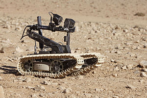 Dragon Runner - Tracked version on exercise in Jordan with the British Army in 2012