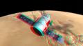 Dragon V2 Over Mars - 3D Anaglyph.png