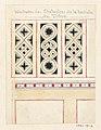 """Drawing, """"Balustrades des Orchestres de la barriere du Trone"""", 1833 (CH 18636081).jpg"""