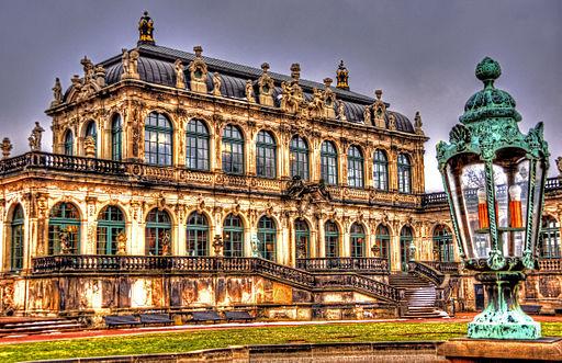 Dresden Zwinger - Porzellanpavillon (8633601439)