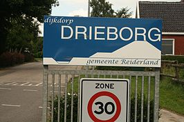 Drieborg 2 Begin bebouwde kom (2010)
