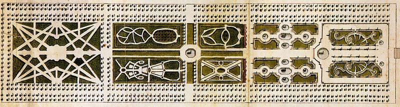 Barokhaven, den gustavianske plan i 1760
