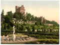 Drummond Castle from S.W. (i.e., Southwest), Scotland-LCCN2001705974.tif