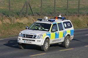 Airport Police (Ireland) - A Dublin Airport Police Isuzu