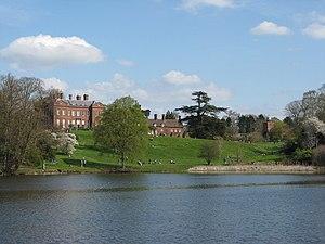 Dudmaston Hall - Dudmaston viewed across the Big Pool, which took its present form under William Wolryche-Whitmore