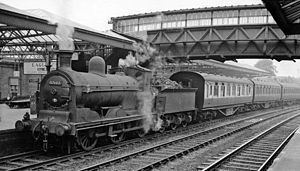 Glasgow and South Western Railway - Dumfries station pilot in BR days