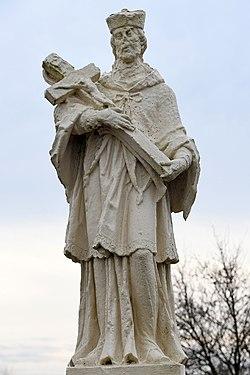 Dunakiliti, Nepomuki Szent János-szobor 2021 06.jpg