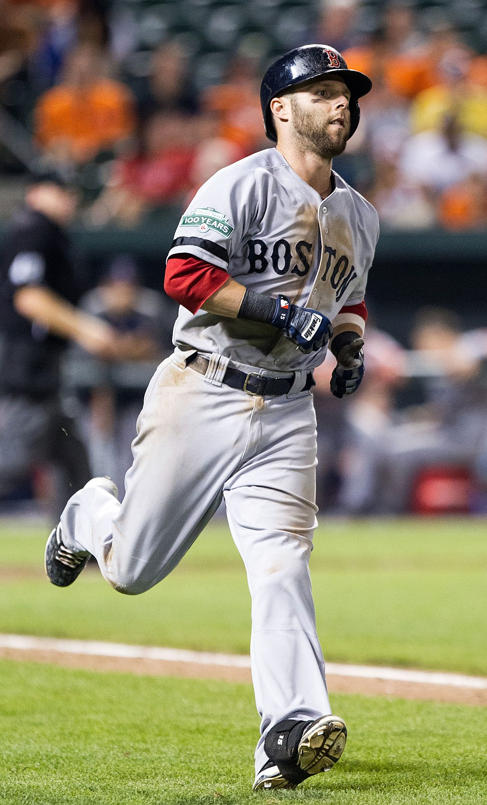 Dustin Pedroia 2012 (cropped)
