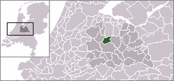 Location of Maarssen