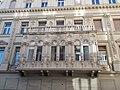 Dwelling building. Balcony. - 7., József Attila St., Budapest District V.JPG
