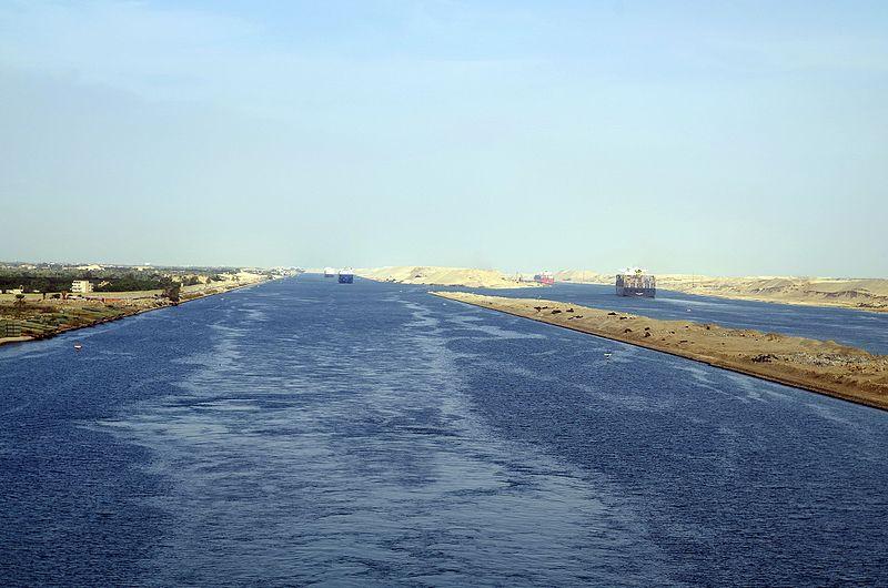 Canal de Suez (Egipto).