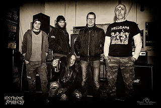Extreme Smoke grindcore band from Slovenia