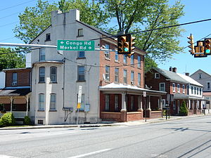 Douglass Township, Montgomery County, Pennsylvania - Image: E Philadelphia Ave, Gilbertsville Mont Co PA 01