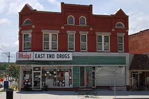 National Register of Historic Places listings in Cole County, Missouri - Image: East End Drugs, Jefferson City