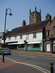 East Grinstead old shops Nigel Freeman