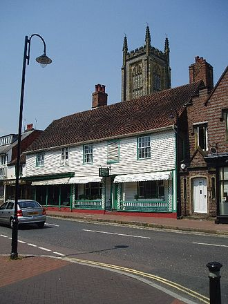 East Grinstead - Houses and shops in East Grinstead